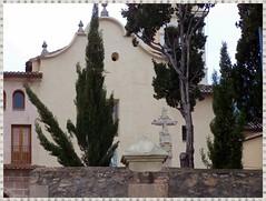 "Convent de ""San Sebasti, Mrtir"". Franciscans. Cocentaina (Alacant) (Trix: Pierre qui roule .......) Tags: alicante cruz convento comunidadvalenciana cvpc comtat cocentaina pvca pelscaminsdelspaisoscatalans"