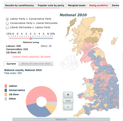 Economist - election map