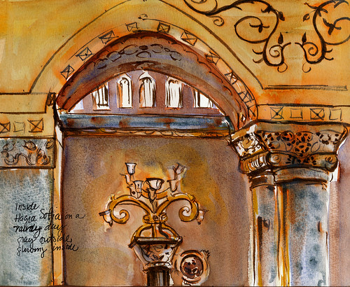 Turkey,  Hagia Sophia alcove