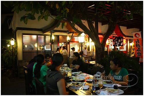 Hana Japanese Restaurant in Little Tokyo, Makati