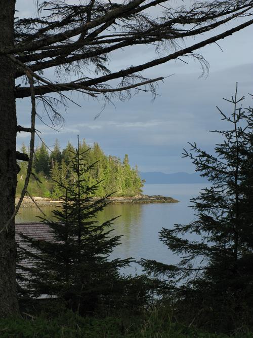 Kasaan Point in Kasaan Bay, Kasaan, Alaska