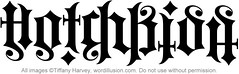 """Hotchkiss"" Ambigram"