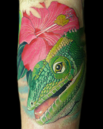If you're thinking of getting a Lizard tattoo I would suggest something like