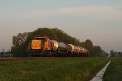 Loppersum - 6 mei 2010 (Kars Cleveringa) Tags: train zug db cargo loc trein loppersum railion schenker 6400 6416 goederentrein dbsrn