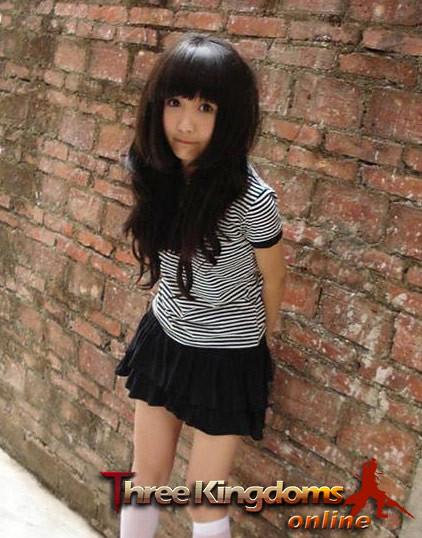 Three Kingdoms Online-girl001 (3) by zhangallan
