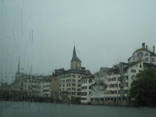 Zürich in the Rain