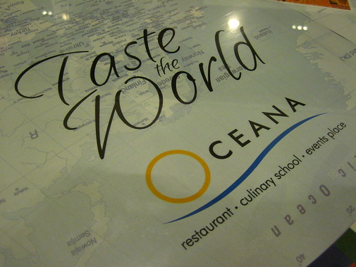 Oceana Anniversary: Taste the World