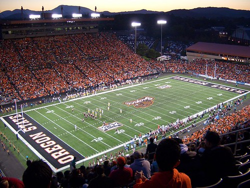 Oregon State University's Reser Stadium