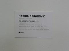 marina @moma