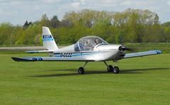 Aerotechnik EV-97 Eurostar  G-CCZZ (Old Buck Shots) Tags: egsv ks aerotechnik ev97 eurostar gcczz buckenham airfield oldbuckenhamairfield keith sowter