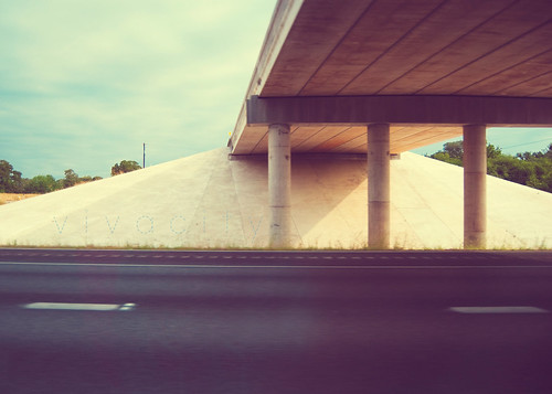 on the road: underpass