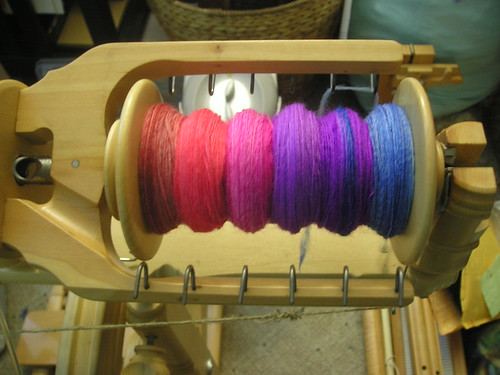Multicolored possibly-Merino