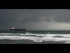 Pilot Away (Catching Magic) Tags: ocean newzealand seascape storm nikon pacific tiraudan shipping bayofplenty mountmaunganui matamatacameraclub