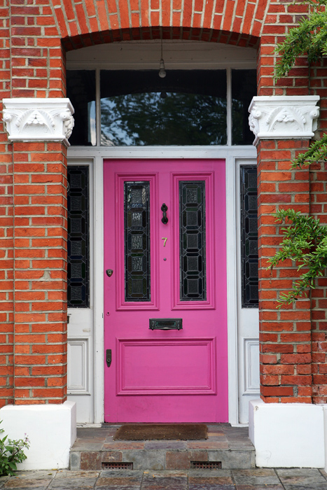 Pink 2 door