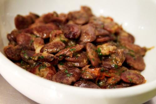 braised beans?