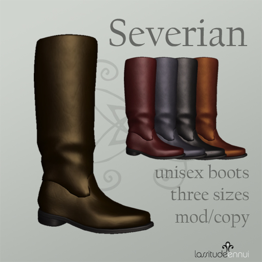 Severian unisex boots