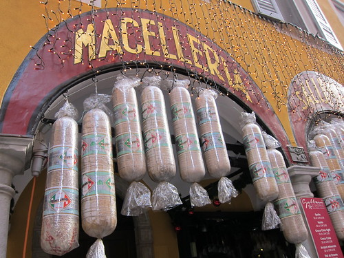 Macelleria ... Sausages and stuff