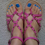 Double score: $24 shoes and my nail polish for the summer. Great finds! thumbnail