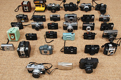 my film cameras: portrait time (ho_hokus) Tags: camera canonav1 supersampler ishootfilm collection cameras actionsampler olympusxa2 nikonn80 familyportrait olympustrip35 olympusxa smena8m chinonbellami kodakbrowniehawkeye yashicaelectro35 minox35gt holga120n nikonem cameracollection nikonl35af canoncanonetql17giii olympuspenee2 ilfordsprite minoltahimatice argussuper75 polaroidjobpro ricoh35zf sabre620 vivitarultrawideandslim nikononetouch olympus35ec canonmc fujicaautom rolleiprego90 yashicame1 olympusmjuiistylusepic kodakbrownietwin20 andtheygetused