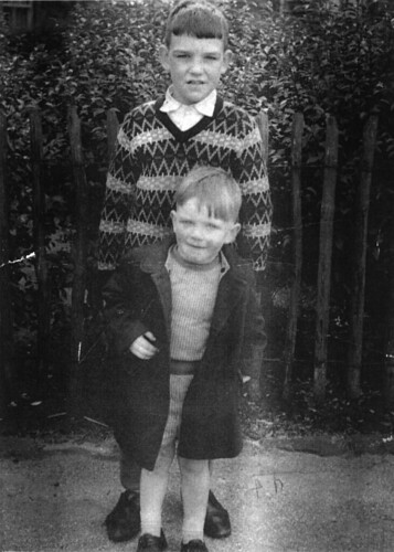 Terry and Stephen, Govanhill 1963