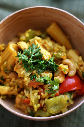 Chicken and Cashew Paella photo 1815168-1