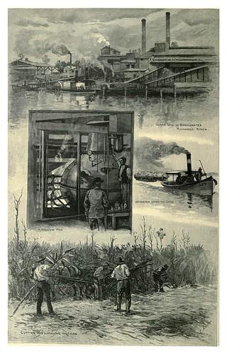 019-Industria azucarera en el rio Richmond Nueva Gales del Sur-Australasia illustrated (1892)- Andrew Garran