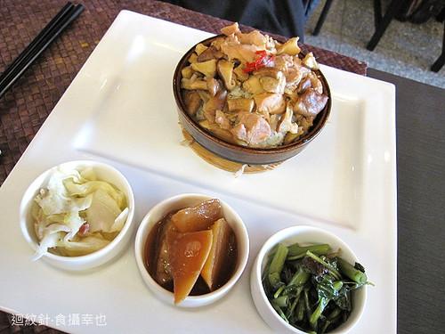 秦大琳私房菜棒打老虎吃雞堡