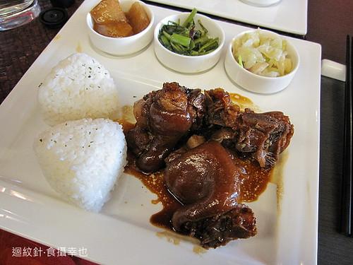 秦大琳私房菜精緻琥珀豬腳飯