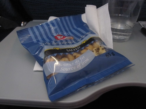 cashews on the plane - $4