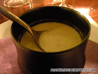 Unassuming, but yummy corn soup