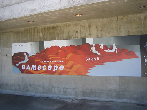 Thom Faulders: BAMscape, 2010; mixed media; 1,500 sq. ft., Berkeley Art Museum