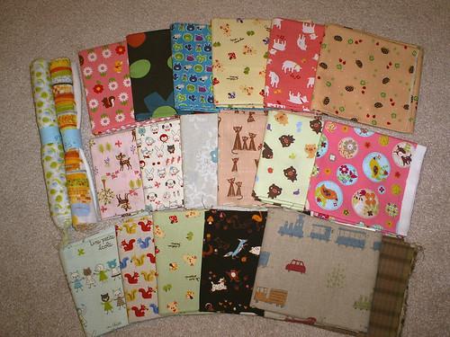 New stash - Japanese fabrics