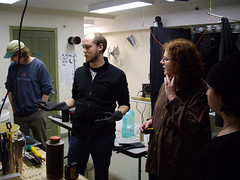 danimations runs a Super8 film production workshop in Dawson City, Yukon, Canada 2007 (danimations) Tags: canada film yukon workshop super8 dawsoncity developing danimations danmonceaux kiac emmasterling