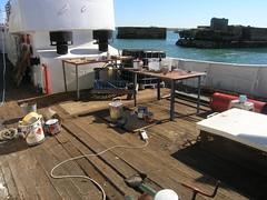 Messy deck