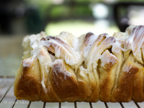 Lemon-Scented Pull-Apart Coffee Cake | 17 and Baking