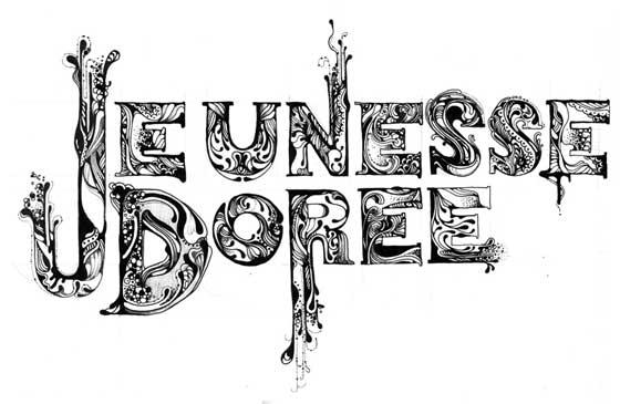 tipografías en ilustraciones