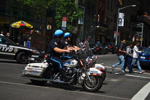 Motorbike Policemen
