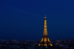 Paris (thekevinchang) Tags: city paris france night dark lights evening eiffeltower arcdetriomphe