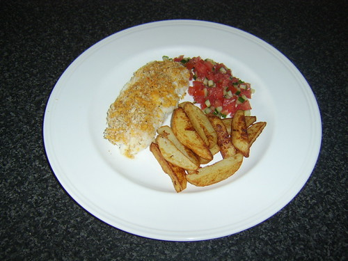 Alternative Healthier Cod and Chips
