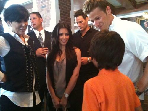 Marco w/ Kris Jenner & Kim Kardashian