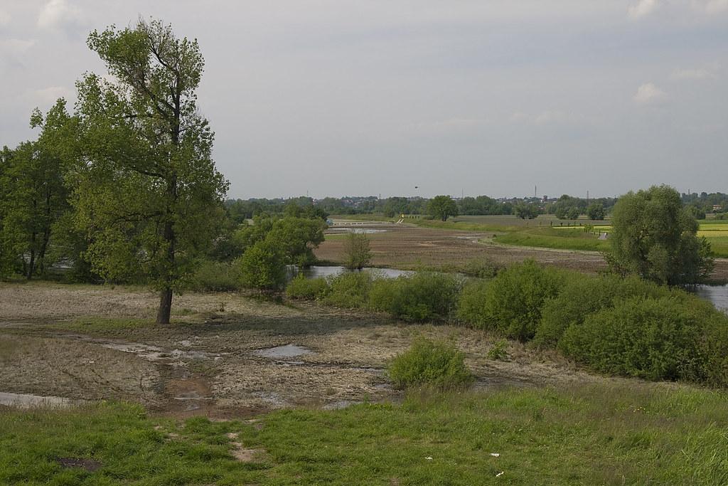 Most kolejowy / After flood