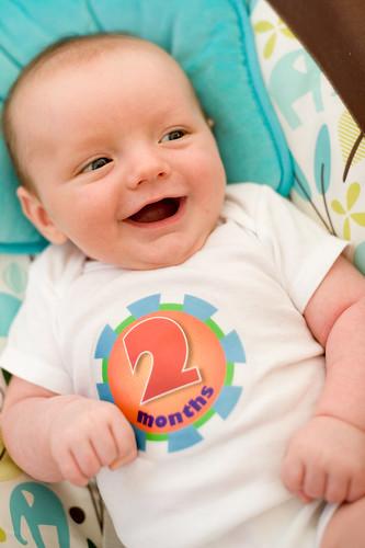Noah 2 Months Smiles