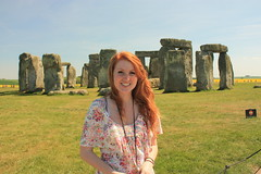 (-Fearless-) Tags: trip vacation portrait england selfportrait girl stone train self happiness stonehenge salisbury complete henge