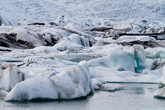 water made landscape (Patrick Mayon) Tags: lake snow mountains cold ice landscape frozen iceland europe earth lac lagoon glacier planet neige iceberg paysage froid jokulsarlon glace islande eos7d