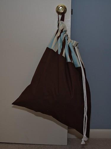 Graduation boys' laundry bag