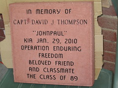In memory (funny strange or funny ha ha) Tags: school brick oklahoma reunion john paul freedom town high friend memorial day all weekend small broadway best class pizza captain 1989 kia fabulous johnpaul ok operation enduring hooker thompson panhandle 2010 89