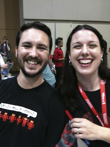 Phx Comic Con 2010 - Wil and Me!