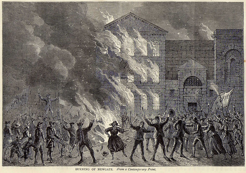 Burning of Newgate