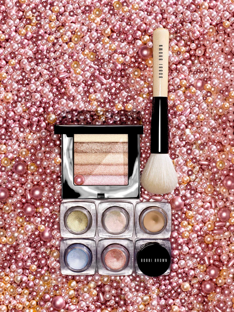 bobbi brown pink oyster makeup party