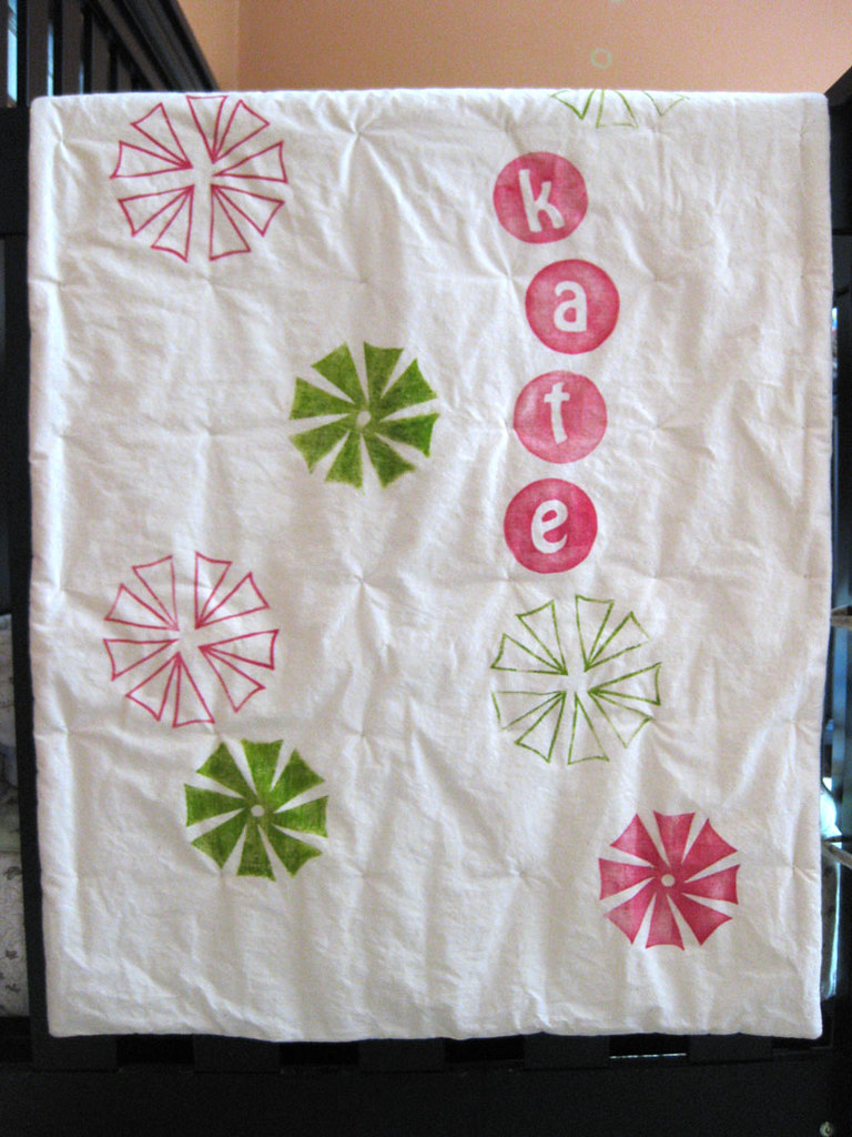 baby quilt (kate) 1b